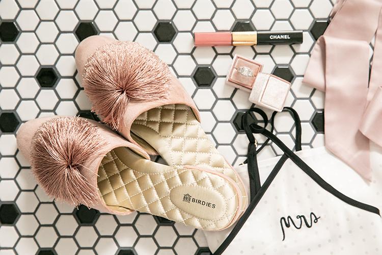 birdies bridal slippers