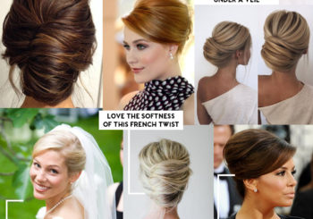wedding wednesday no. 25 // my bridal hair inspiration
