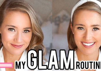 VIDEO // my glam makeup tutorial