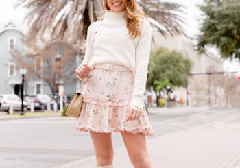 how to wear spring dresses in winter