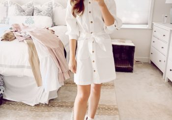 target try on // spring dresses