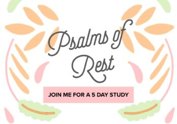 join me // psalms of rest