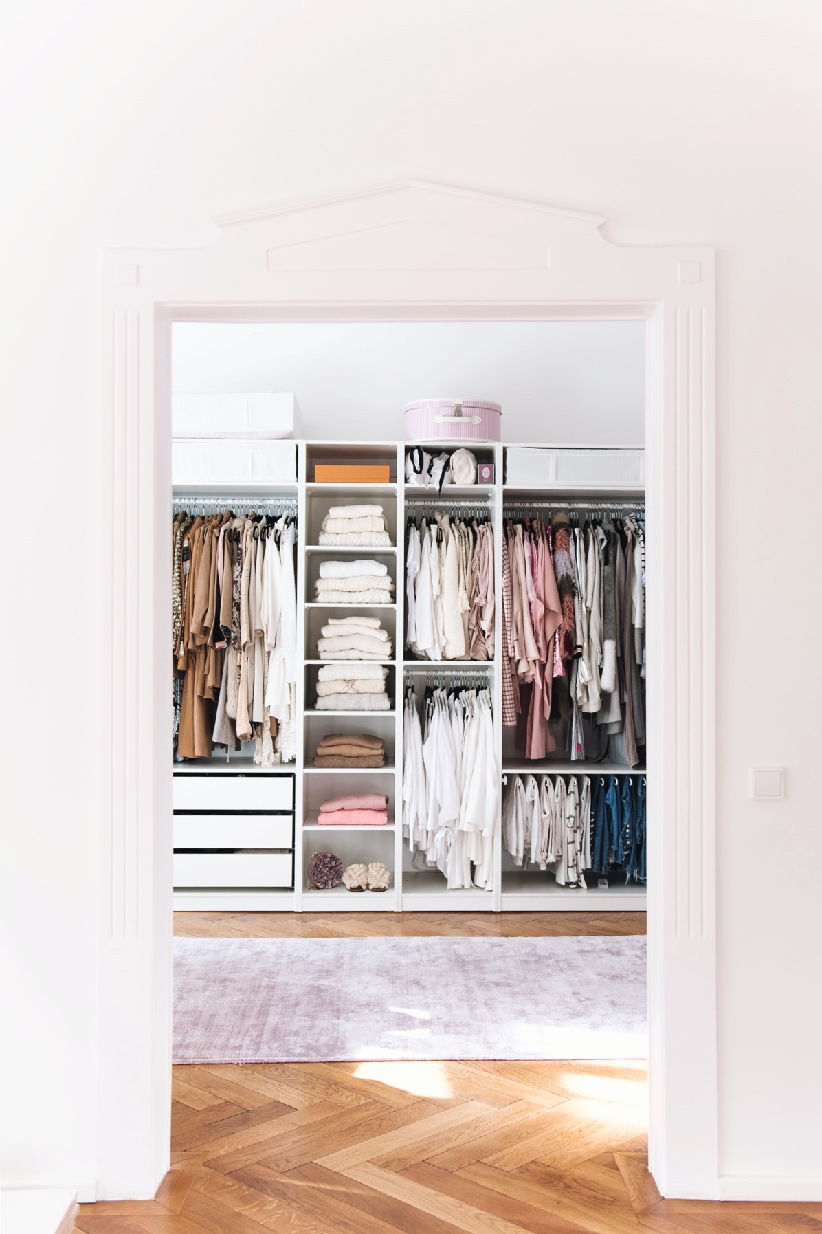 ikea pax closet inspiration